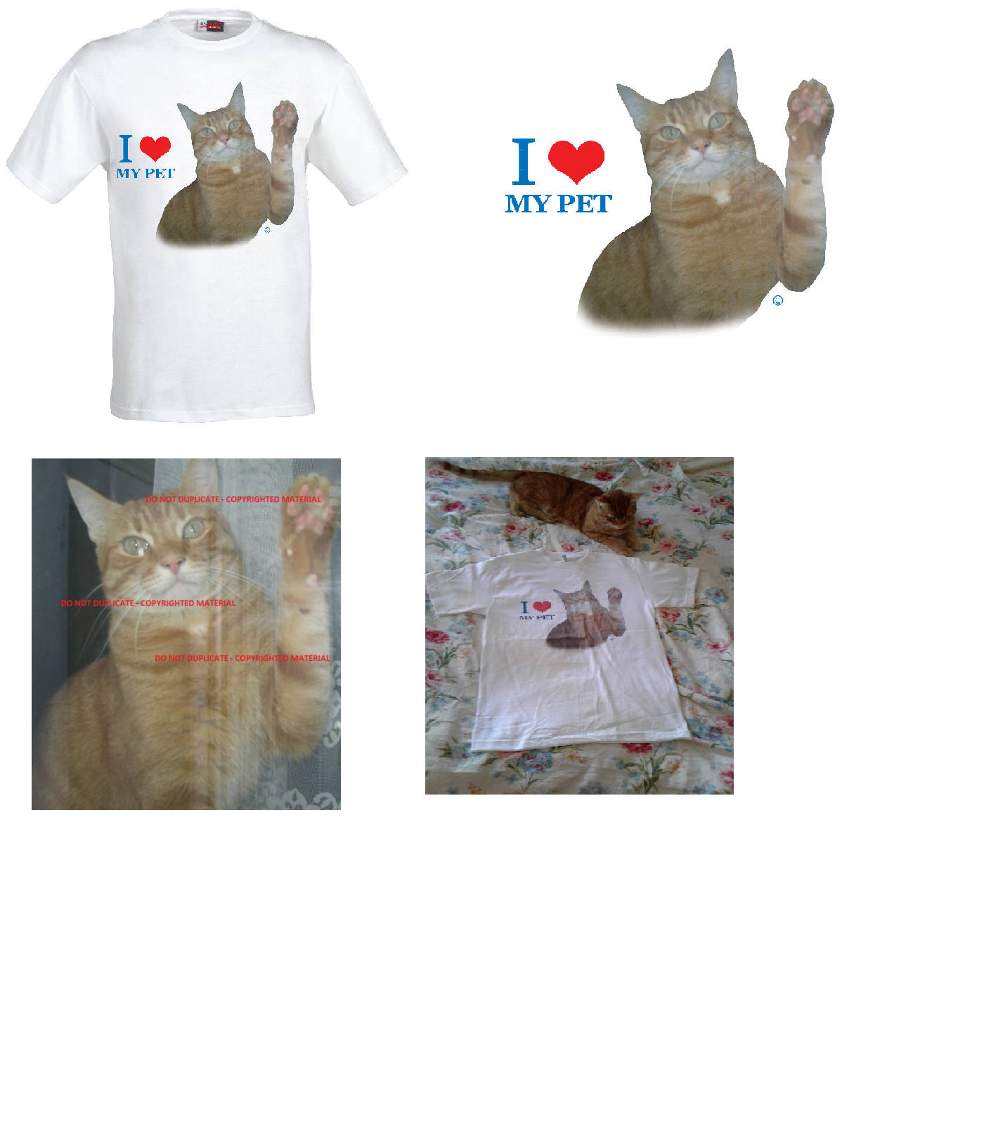 Children T-Shirt Pet Themed