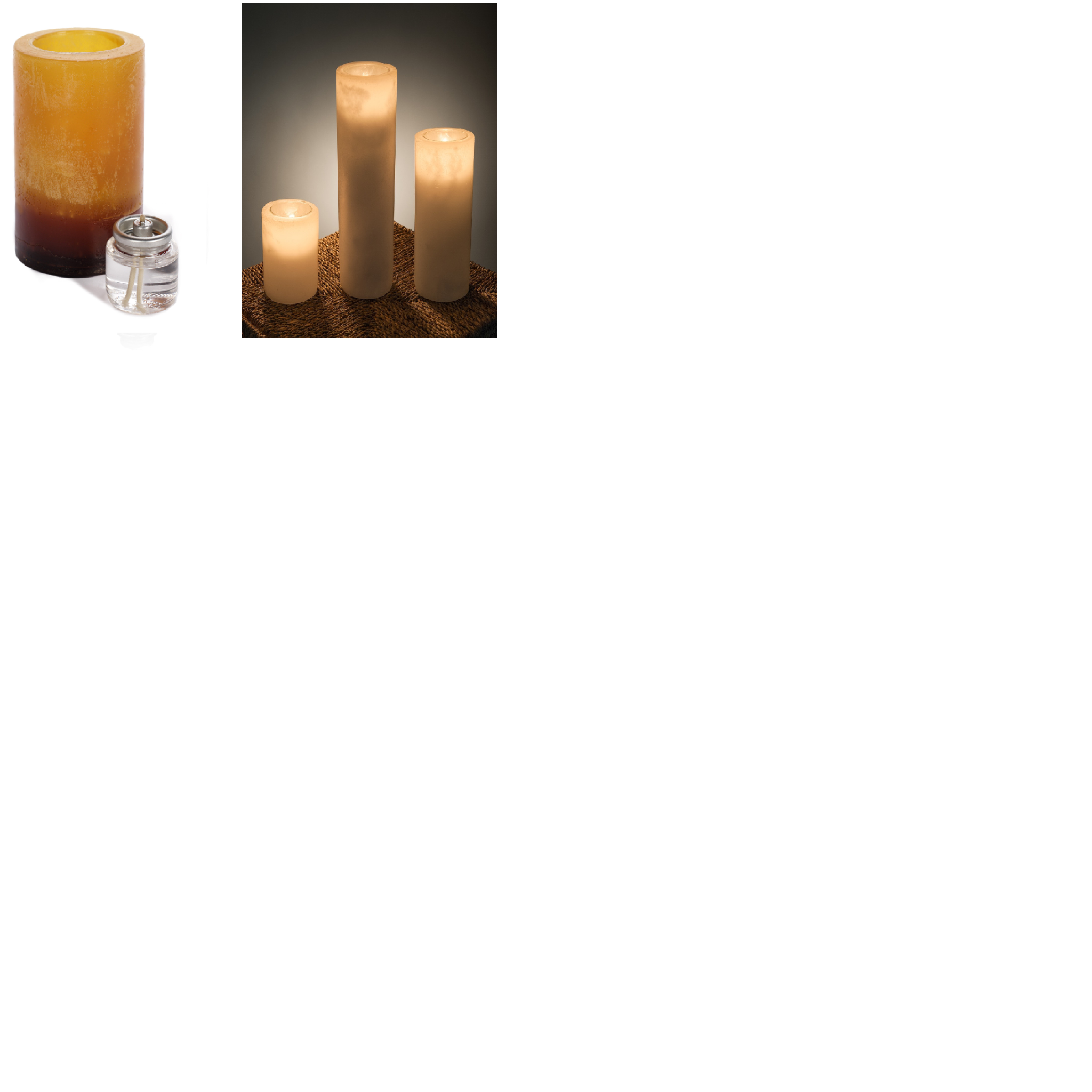 Luminary Triple Color Amber - 3x3 - Click Image to Close