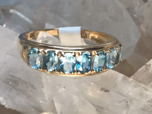 14KT Gold Ring with Topaz