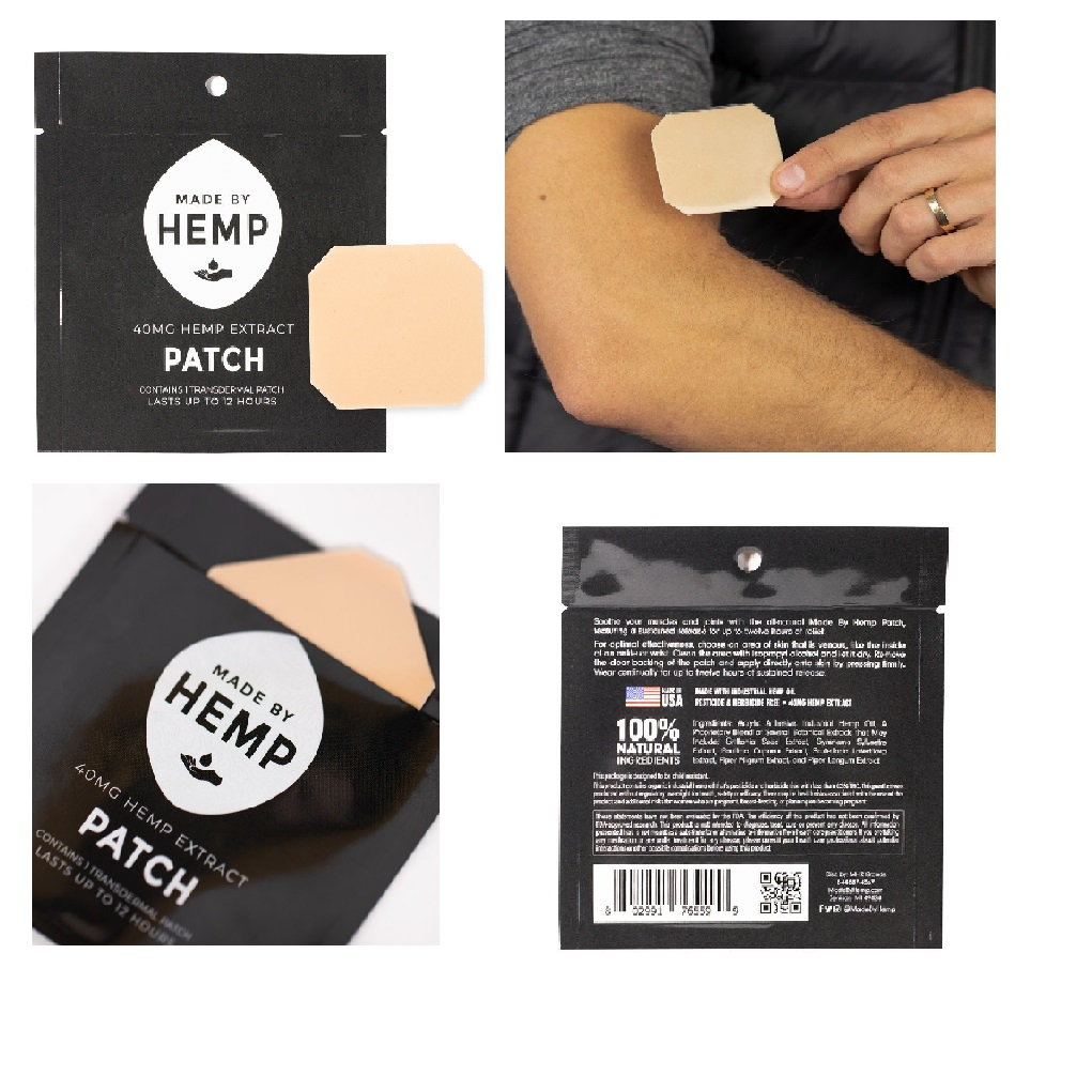 Transdermal CBD Hemp Extract Patch (40mg)